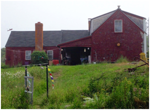 monhegan farm house